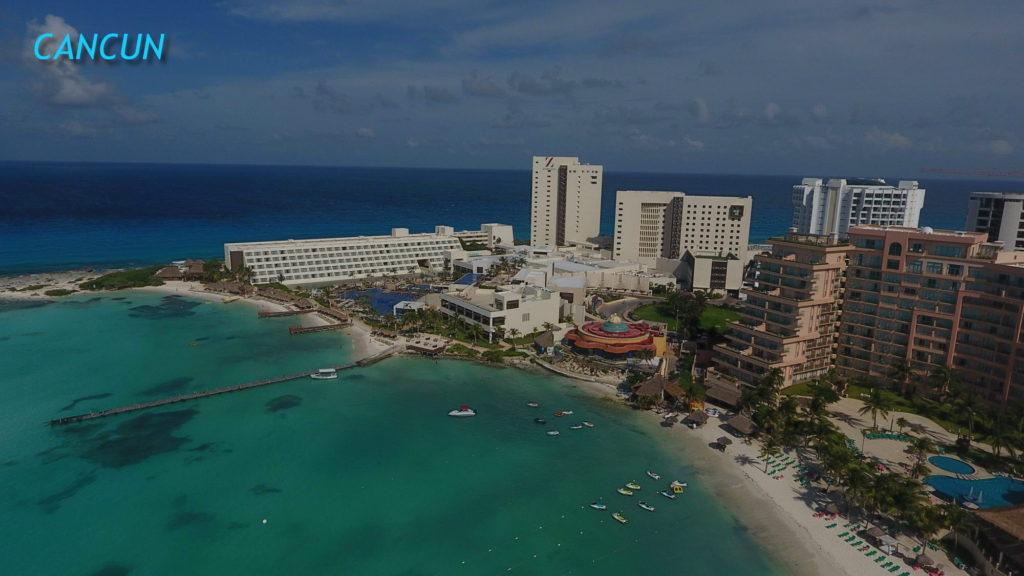 Punta Cancun boat area