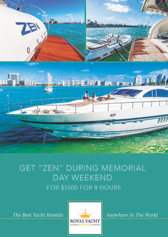 memorial day yacht