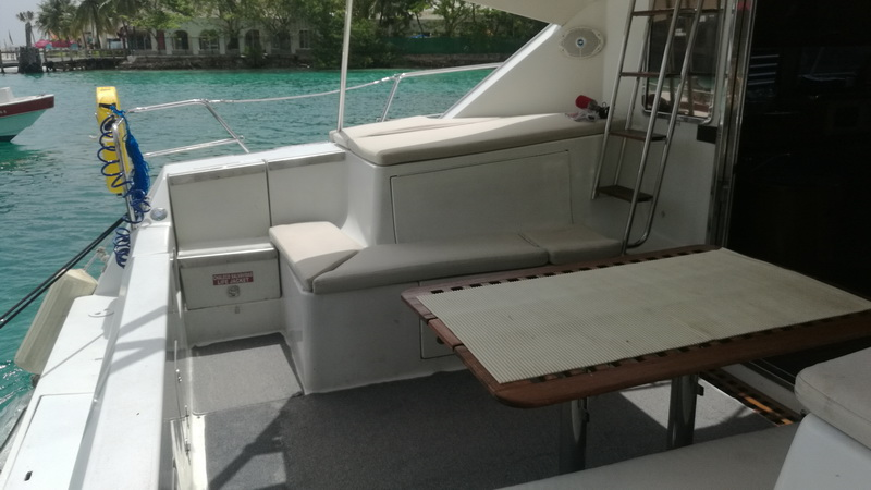 Cancun rent a private catamaran