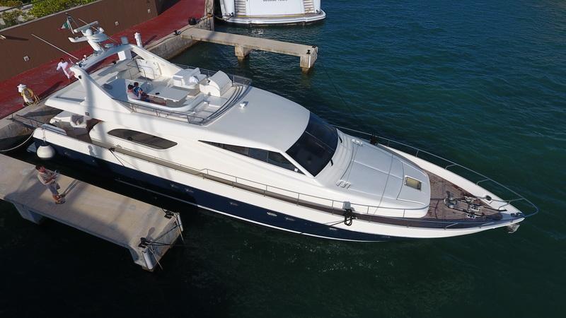 Yacht 74 ft
