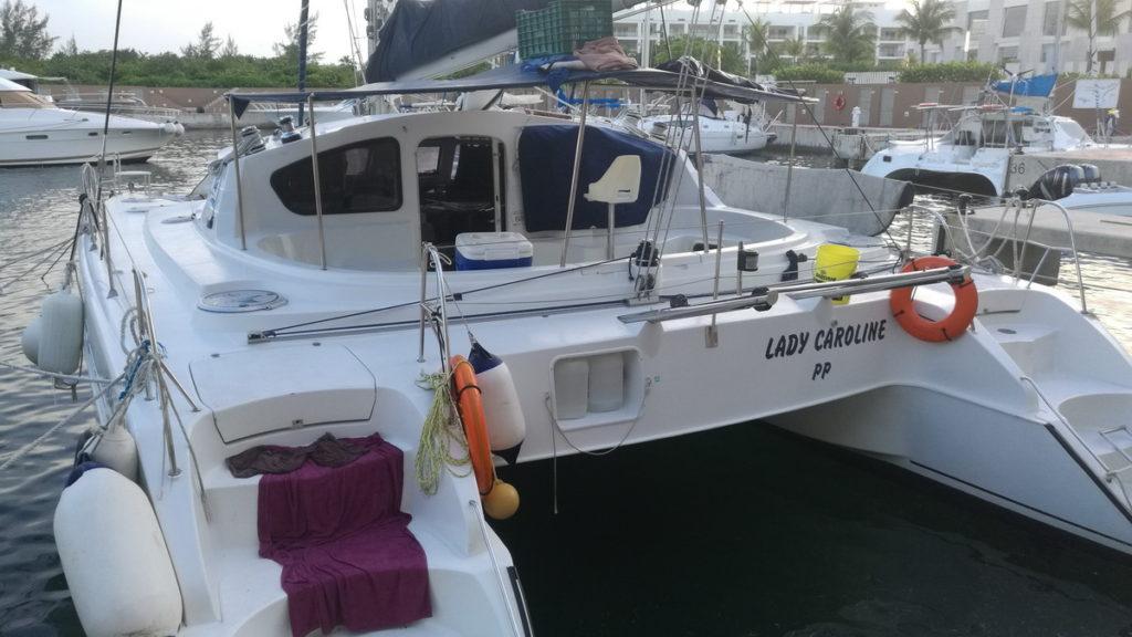 Private Catamaran Cancun 30 people