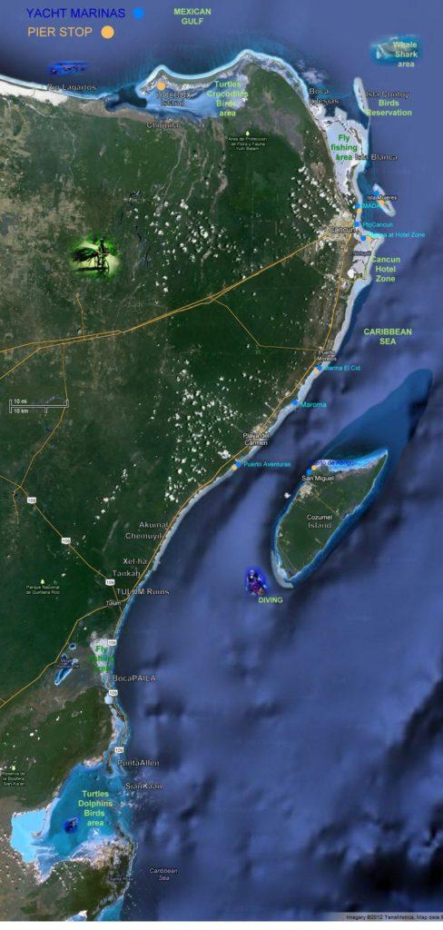 Marinas de Quintana Roo