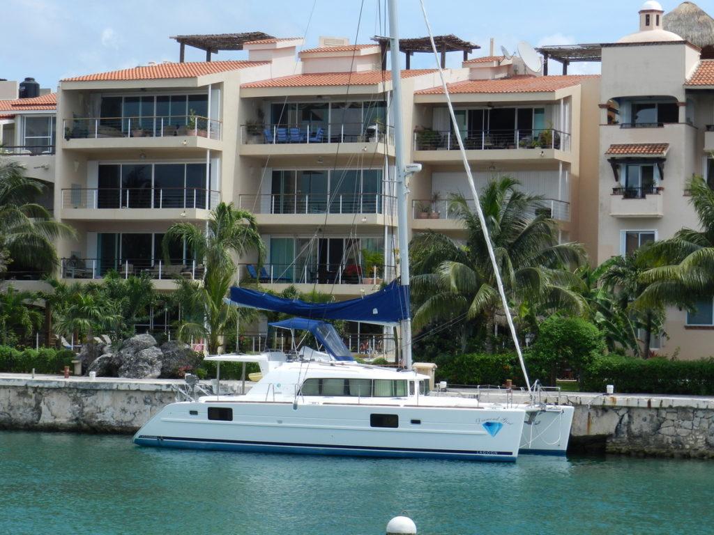 Puerto Aventuras Marina Catamarans