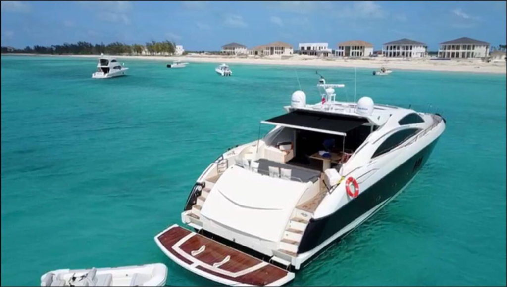 Cancun Sunseeker 80 yacht