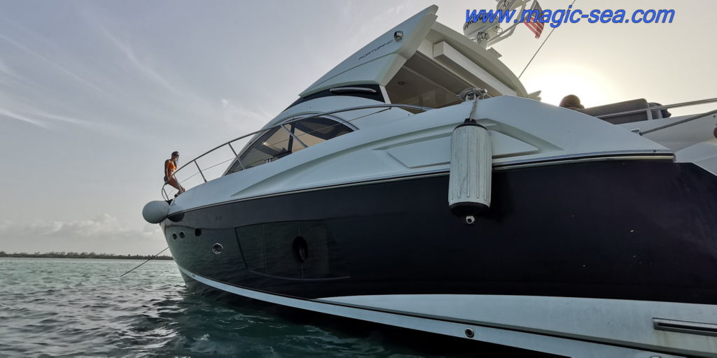 Cancun boats Play Mujeres Yachting day