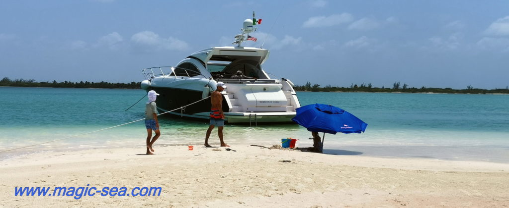 Isla Contoy Yachting day