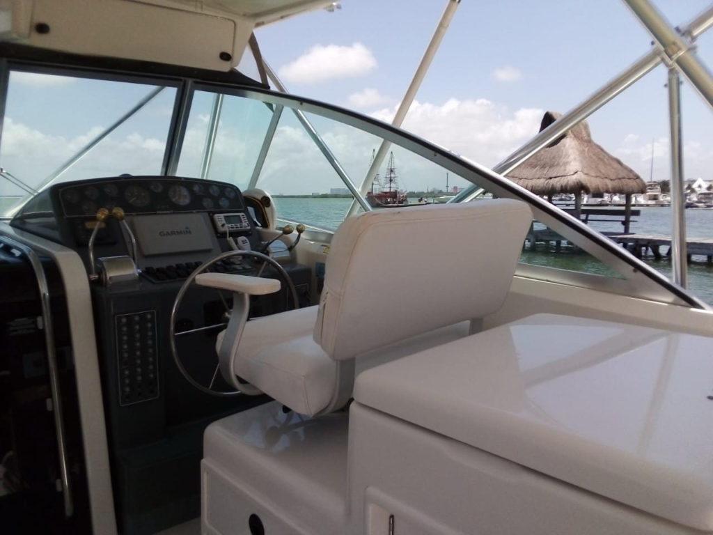 Pursuit 34 boat to rent