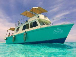Boat to El Cielo Cozumel