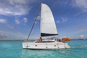 rent a catamaran at Cozumel